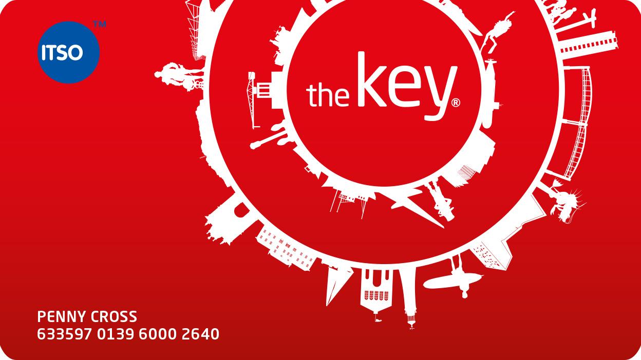 The key card